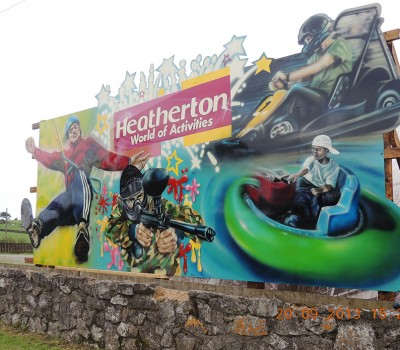 Themed Signage for Heatherton Adventure Park