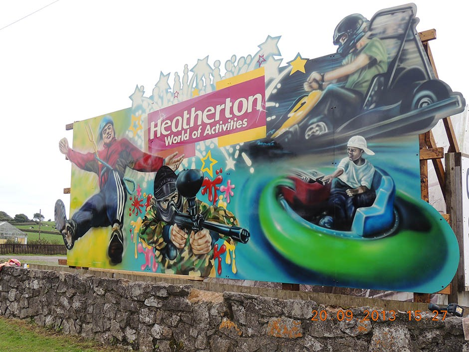 Themed Signage for Heatherton Adventure Park