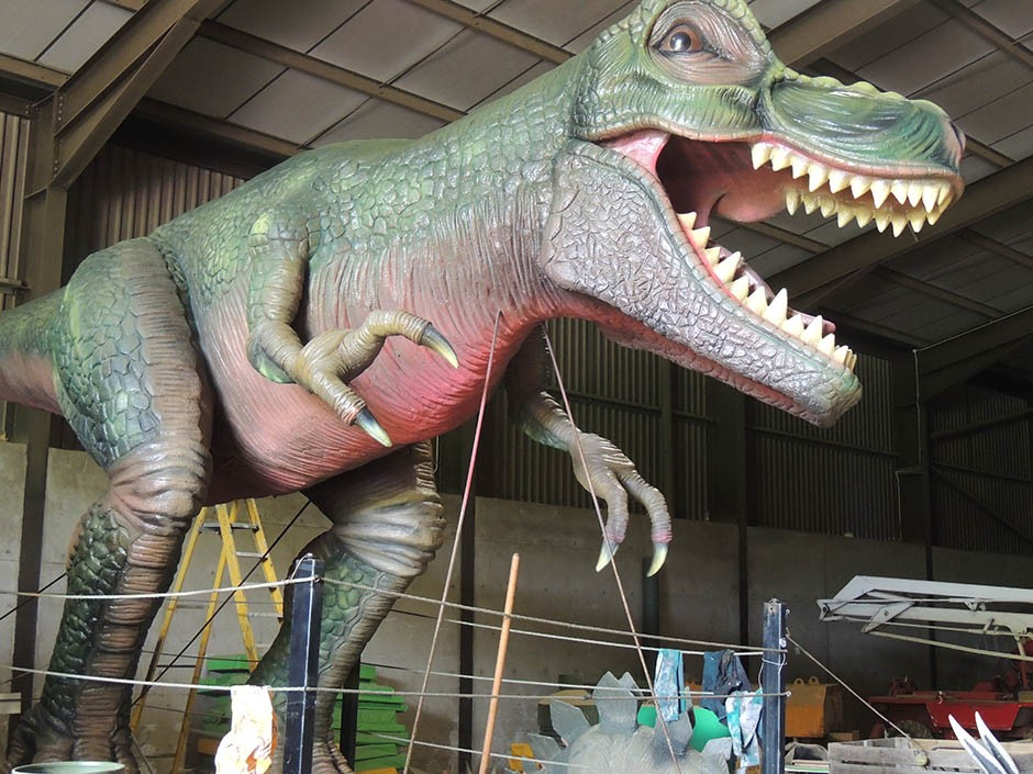 T-Rex for Crealy Adventure Park