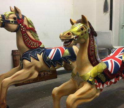 British Carousel Horses