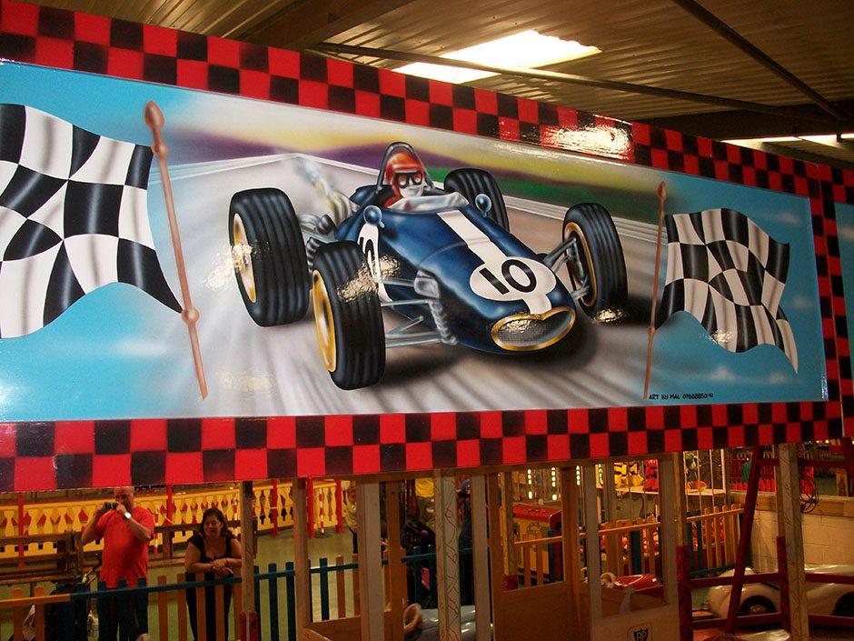 Racing Painting