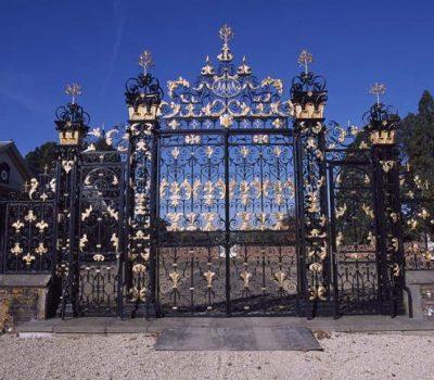 Gilded Gates for Tredegar House