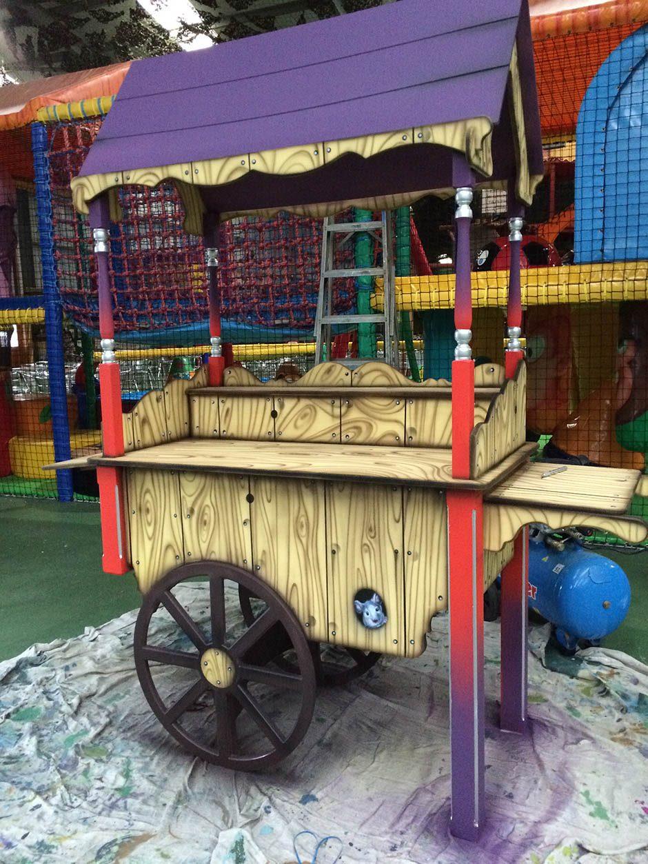 Themed Sales Cart – in Progress