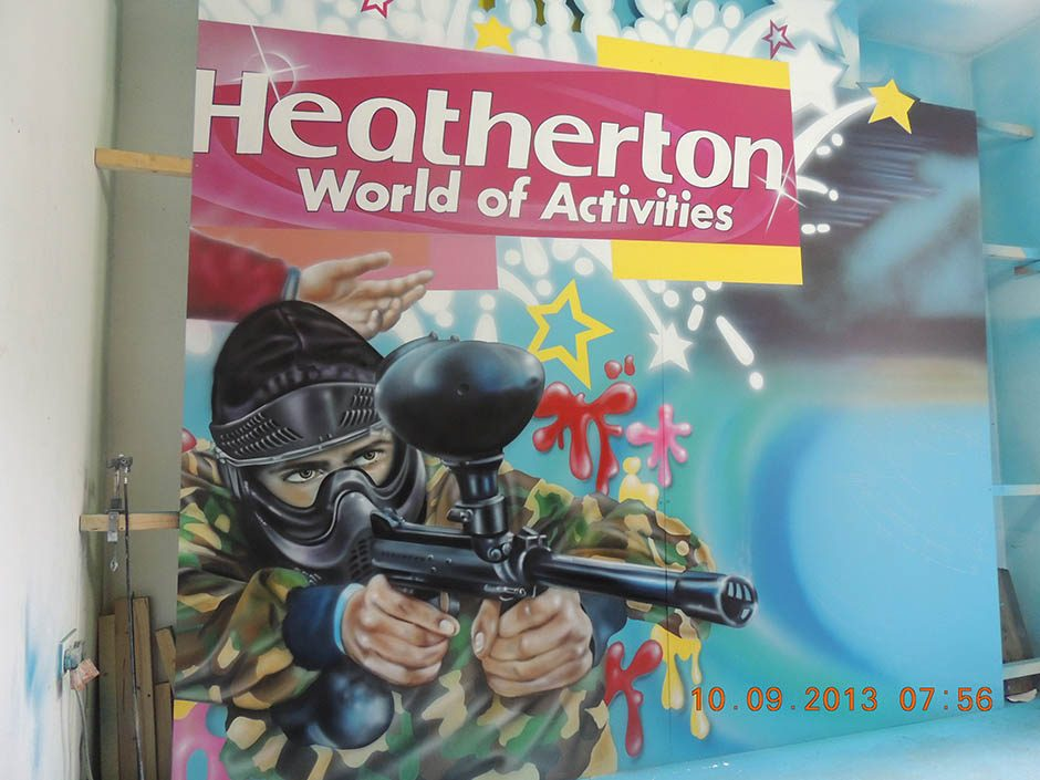 Heatherton Sign, Close Up