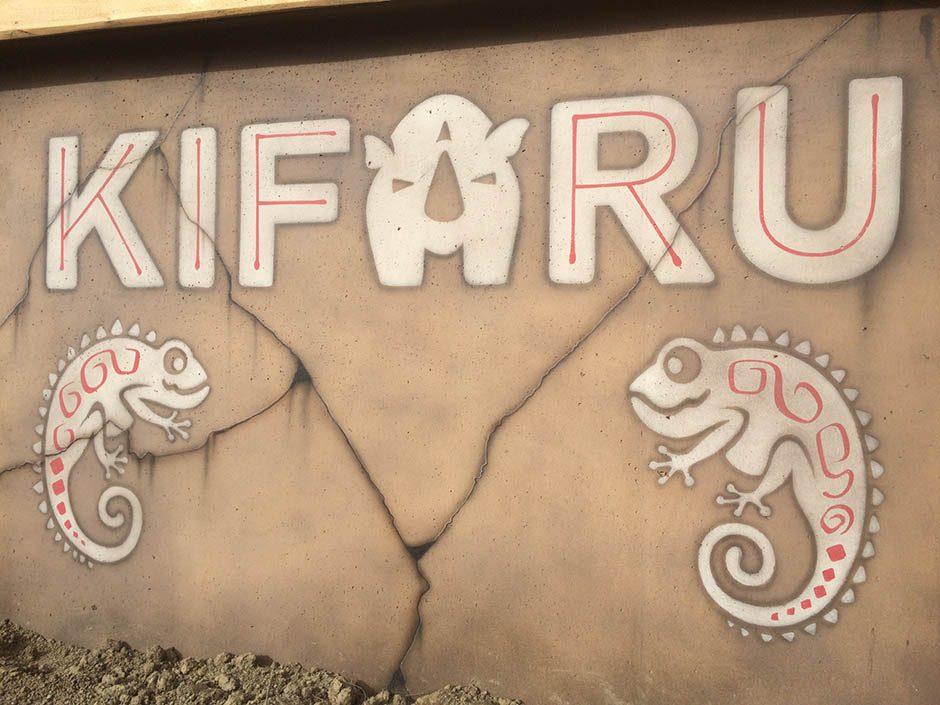 Kifaru with Chameleons