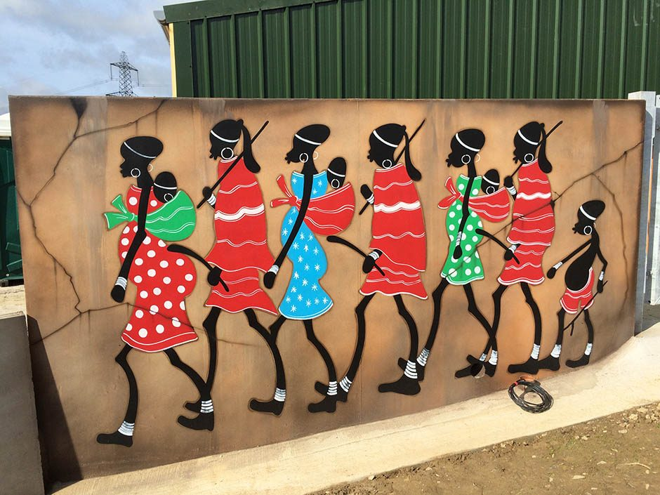 African Styled Mural