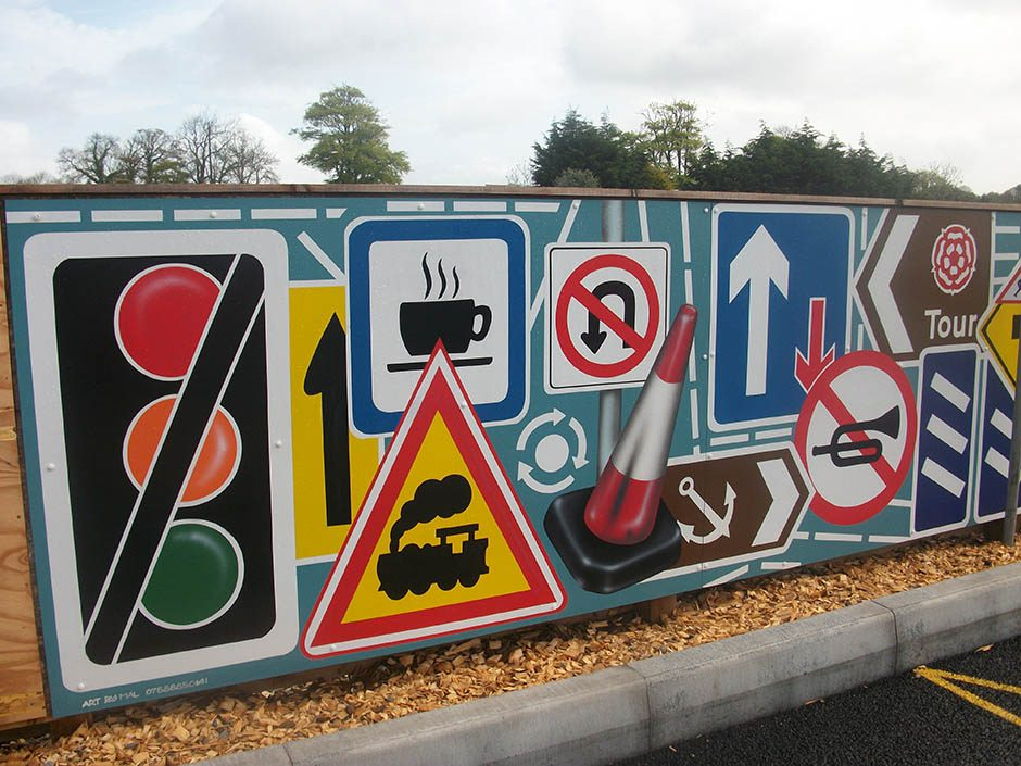 Themed Roadsigns