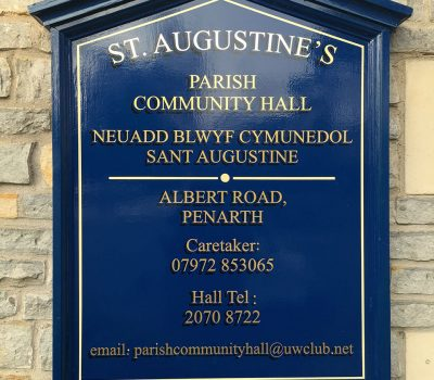 St Augustines Sign