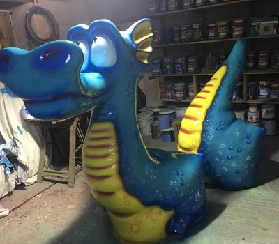 Closer to the Blue Dragon