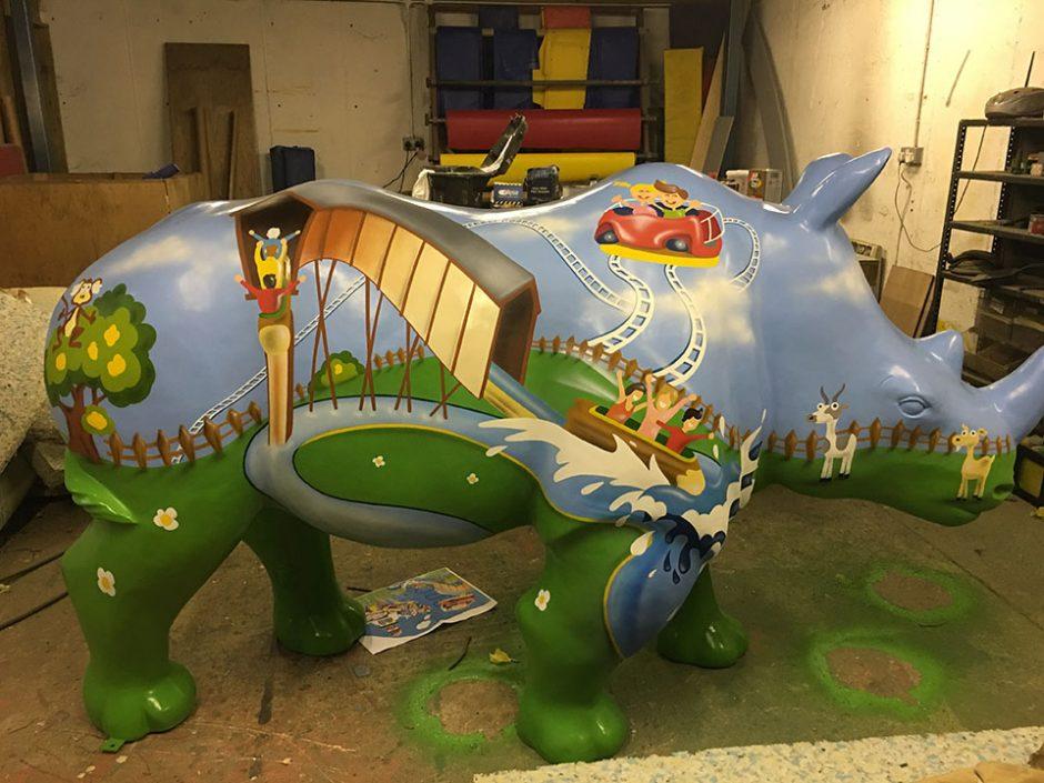 Theme Park Rhino