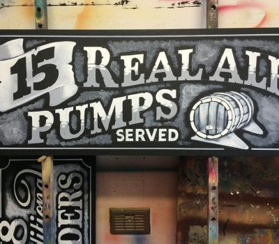 15 Real Ale Pumps