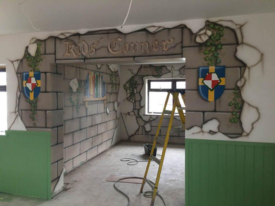 A Medieval Room in Progress