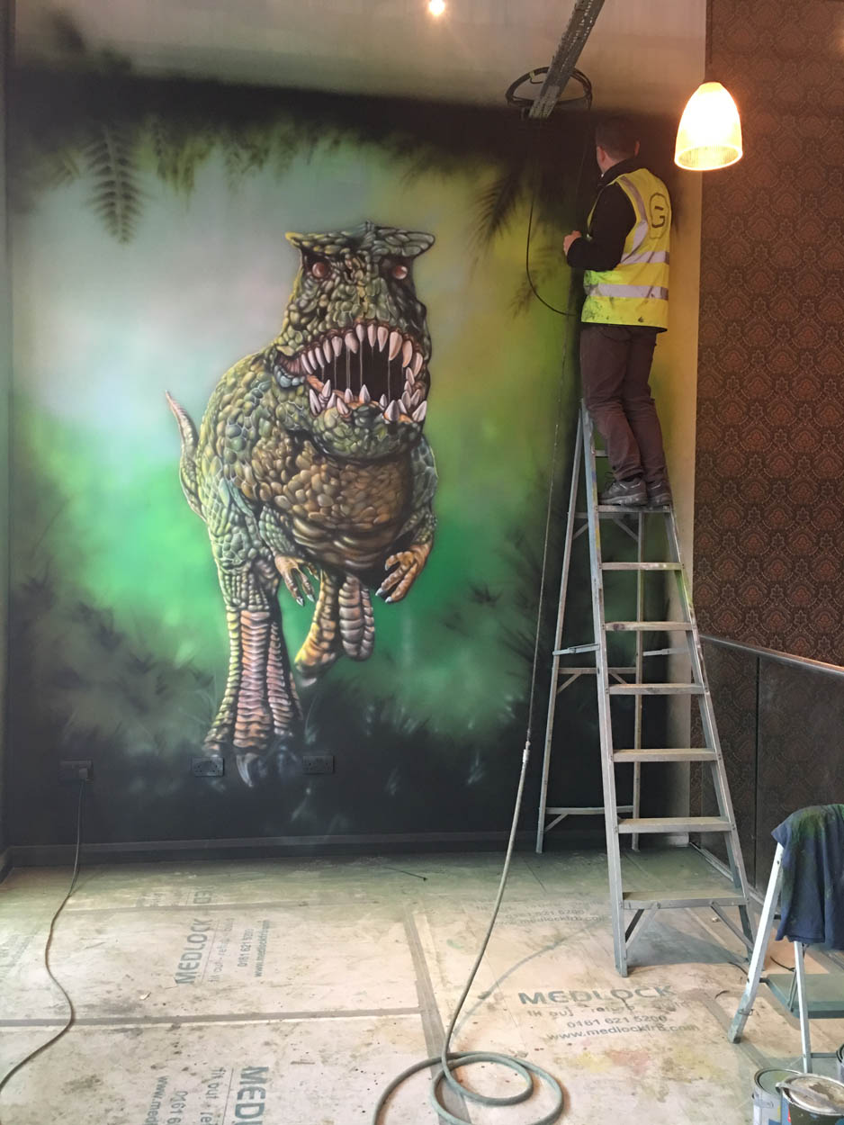 Getting the T-Rex Ready