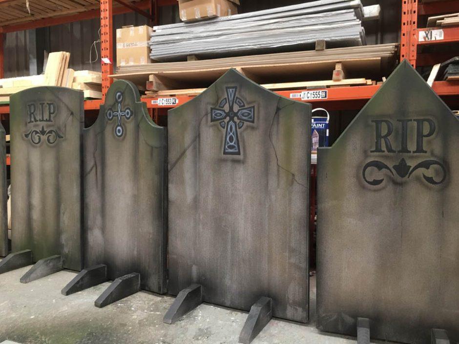 Grave Stone Preparations