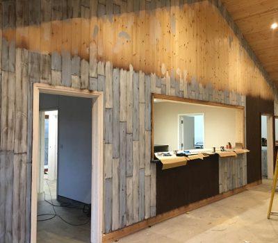 Distressed Wood in Progress