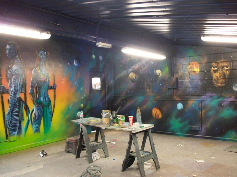 Murals in Progress Part 2