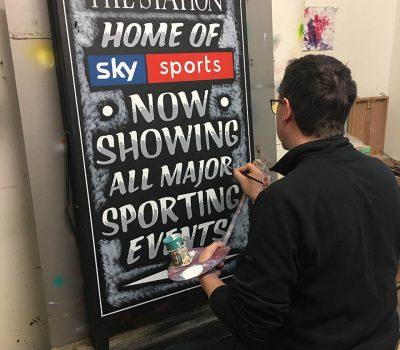 Creating a Chalkboard