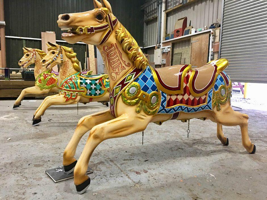 John The Carousel Horse