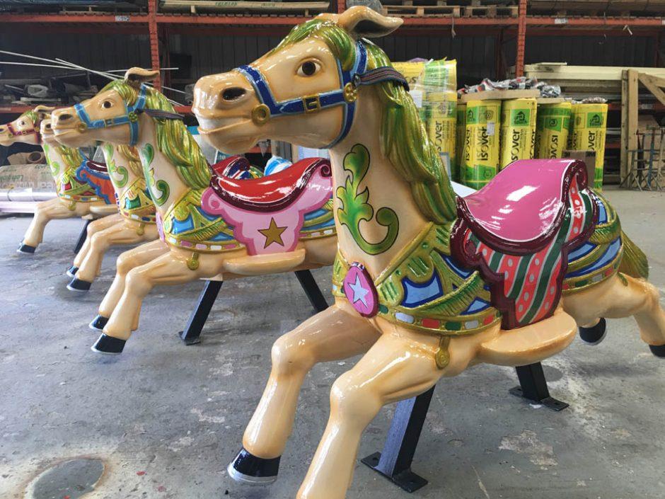 Dobby Horses line of 4