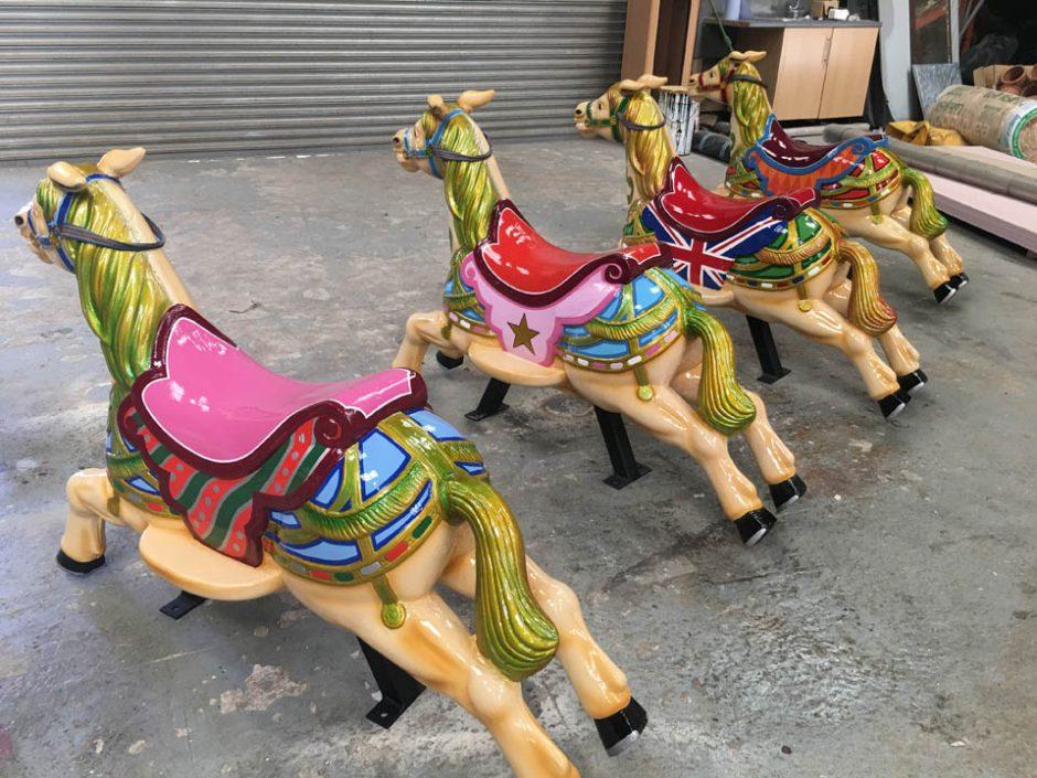 Dobby Horses from Above