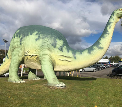 Big Green Dinosaur