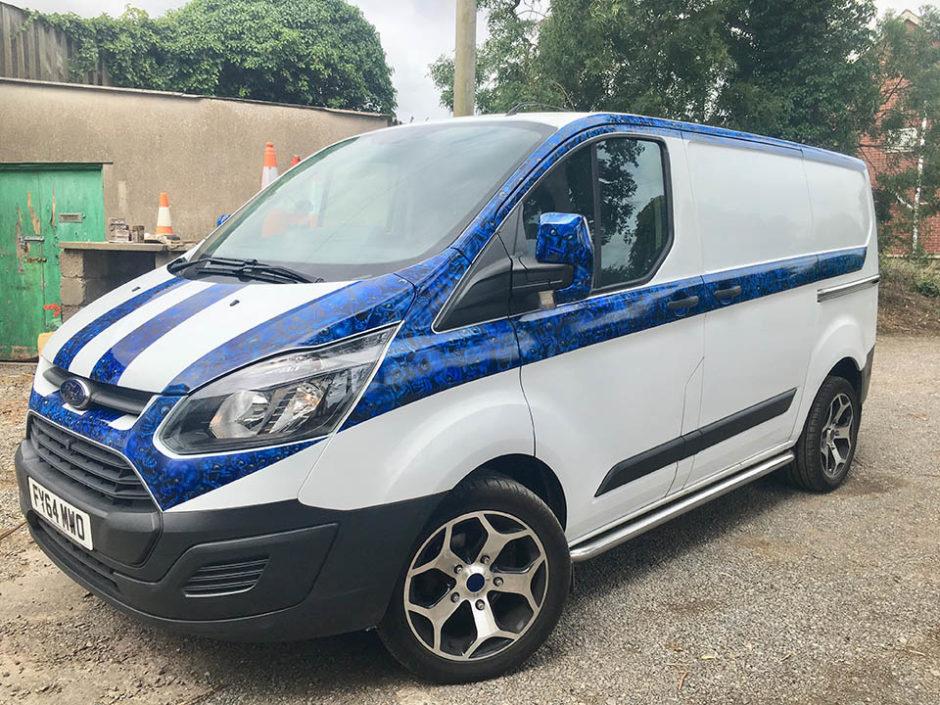 Airbrushed Van