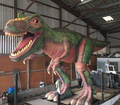 T-Rex Under Repair
