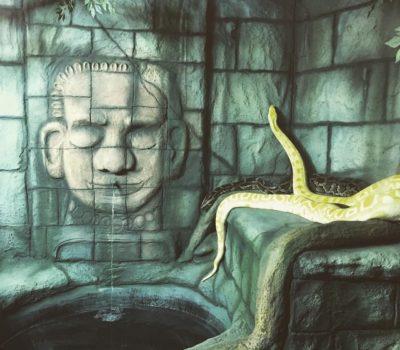 Snake in a Ruin