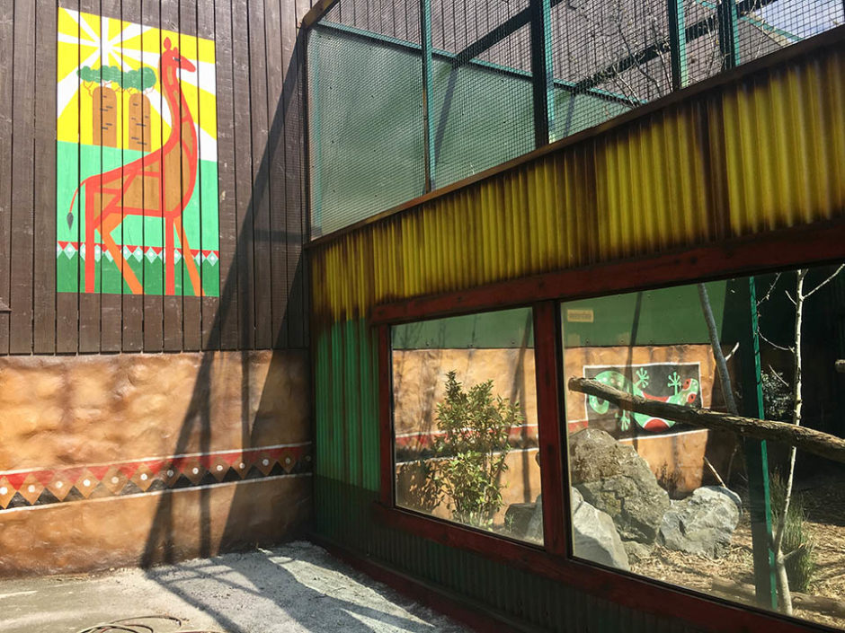 Themed Animal Enclosure